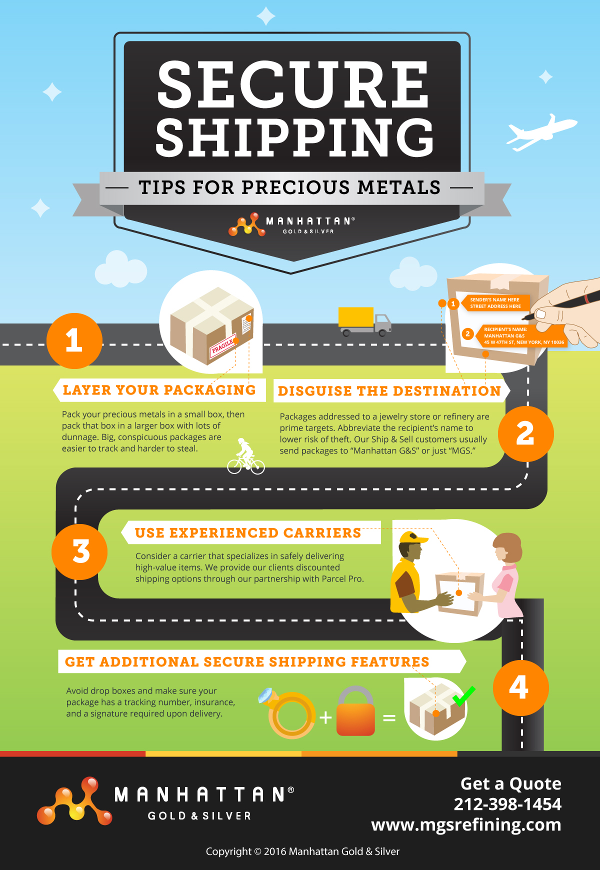 How to ship gold and precious metals – MGS
