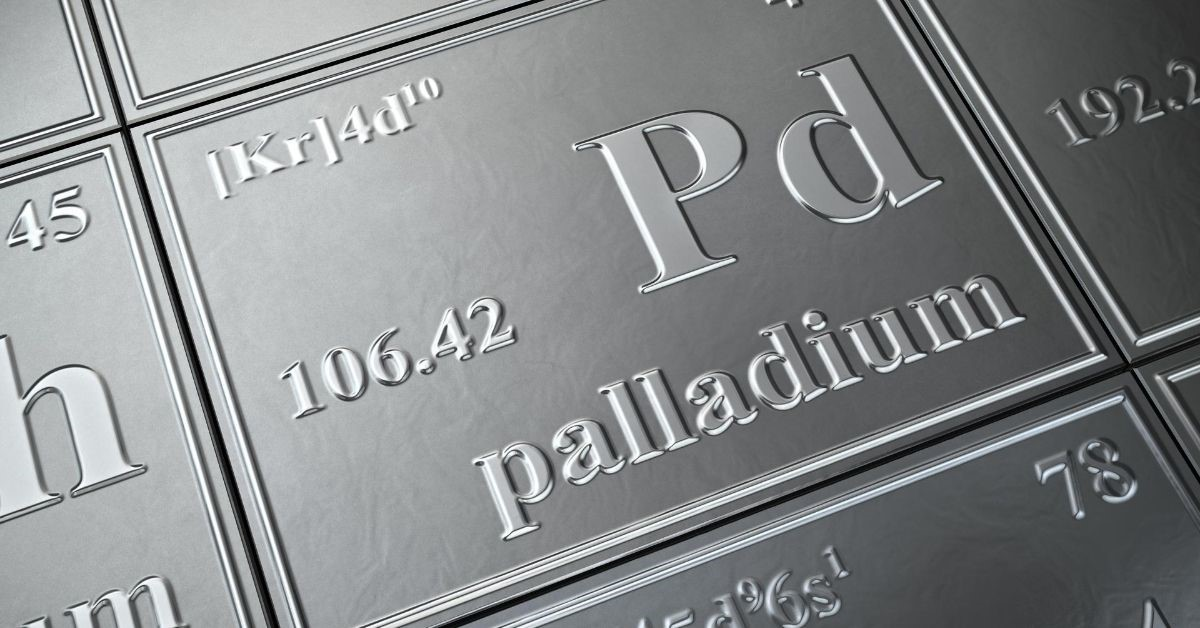 palladium periodic table
