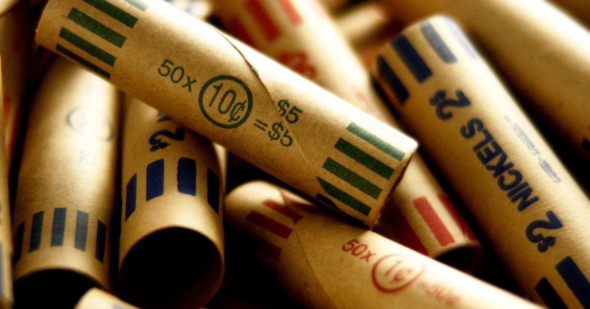 bank rolls coins